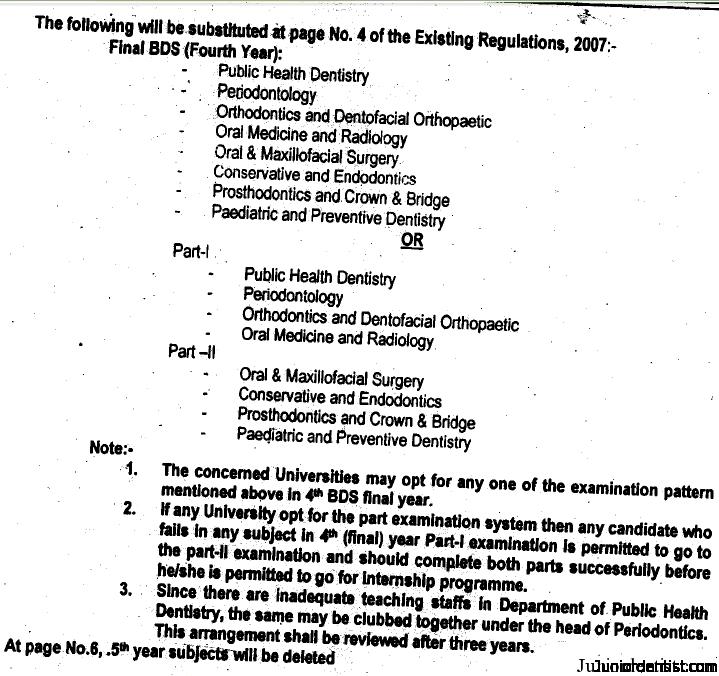 DCI Regulations