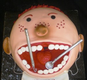 Pedodontist Cake