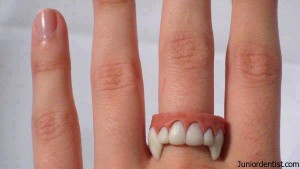 vampire denture rings - Dental Jewelry