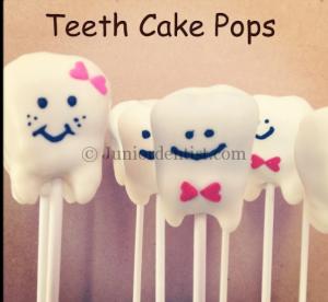 Teeth Cake Pops or sticks