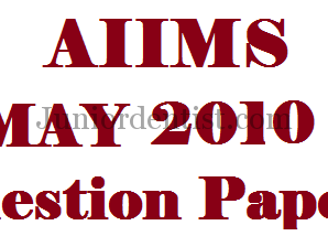 AIIMS May 2010 question paper with answers MDS/Dental