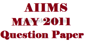 Aiims MAY 2011 MDS/ Dental question paper with answers key