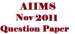Aiims may 2011 question paper