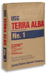 Terra alba use in dentistry