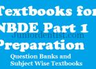Textbooks for NBDE part 1 preparation