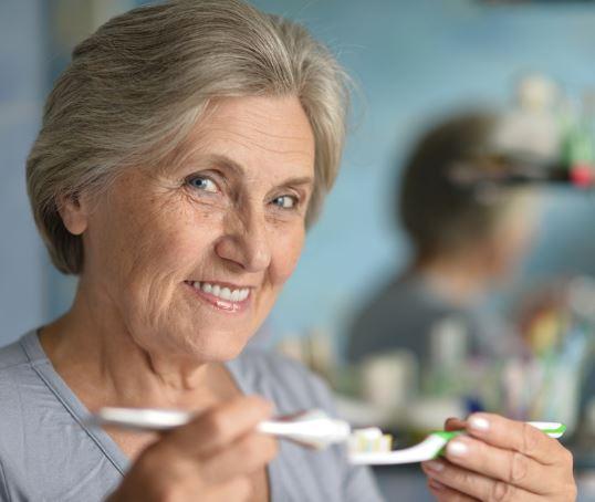 Gum diseases and High blood pressure in older women