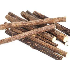 How to brush using Neem twigs